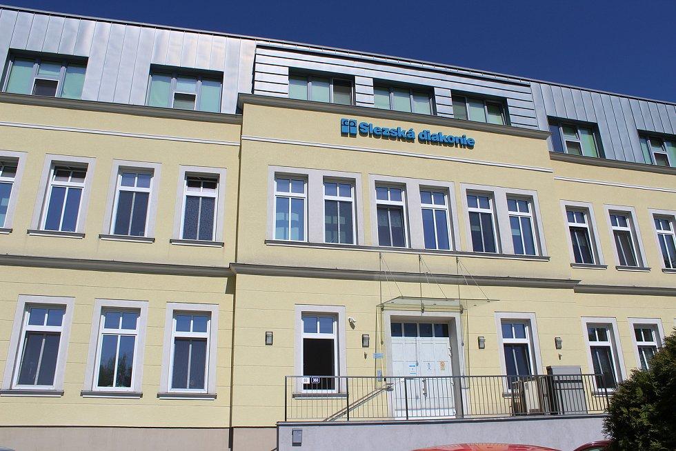 Sídlo střediska Slezské diakonie v Ostravě-Nové Vsi.