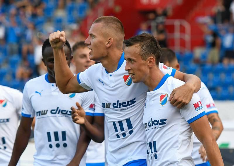 FC Baník Ostrava - Pardubice 3:1 (4. kolo FORTUNA:LIGY, 15. 8. 2021)
