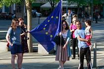Druhá demonstrace se ve čtvrtek 18. května na ostravském Masarykově náměstí nekonala.