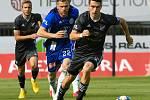Utkání 28. kola první fotbalové ligy: SK Sigma Olomouc - FC Baník Ostrava, 7. června 2020 v Olomouci. Radim Breite Robert Hrubý