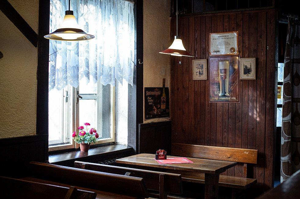 Restaurace Forman v Mariánských horách, 25. května 2020.