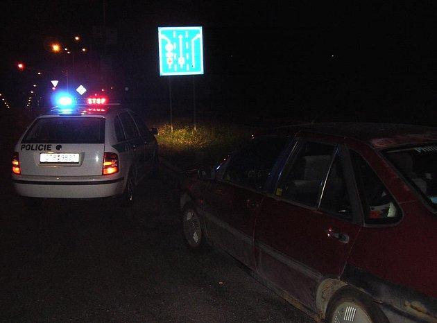 Noční policejní razie v Ostravě-Porubě