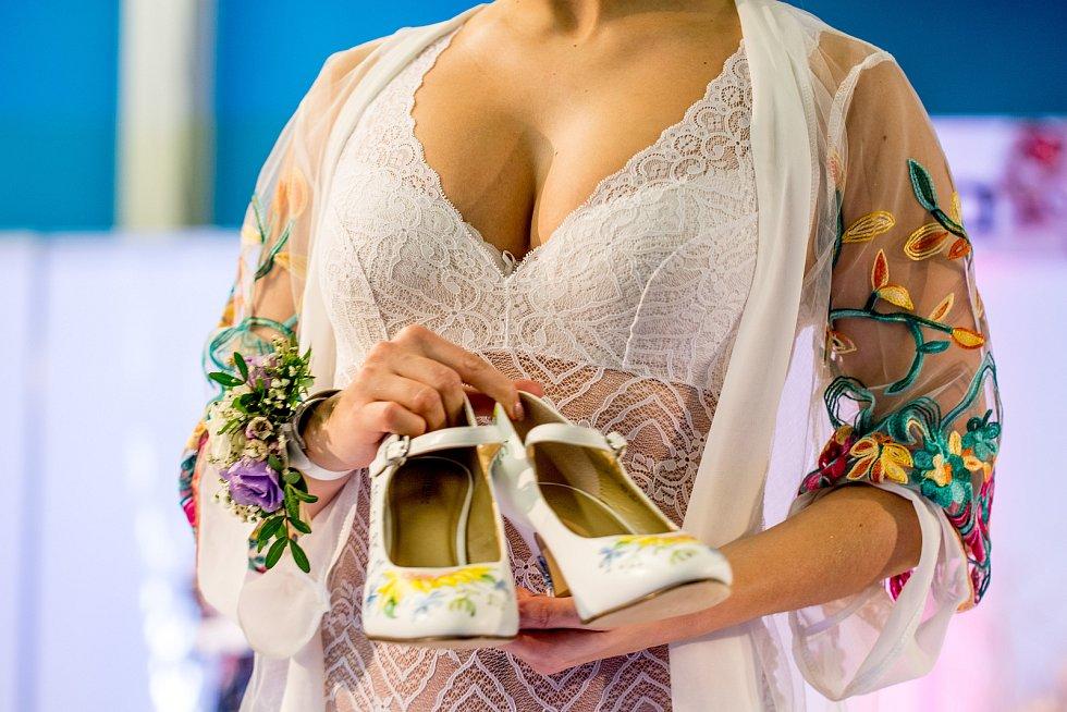 Ilustrační foto ze svatebního veletrhu.
