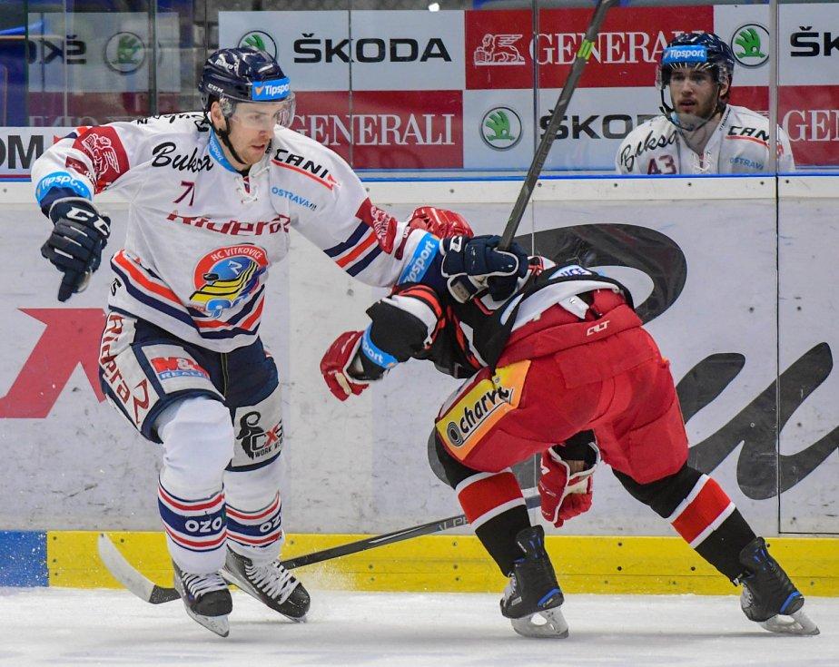 HC Vítkovice Ridera - HK Mountfield Hradec Králové.