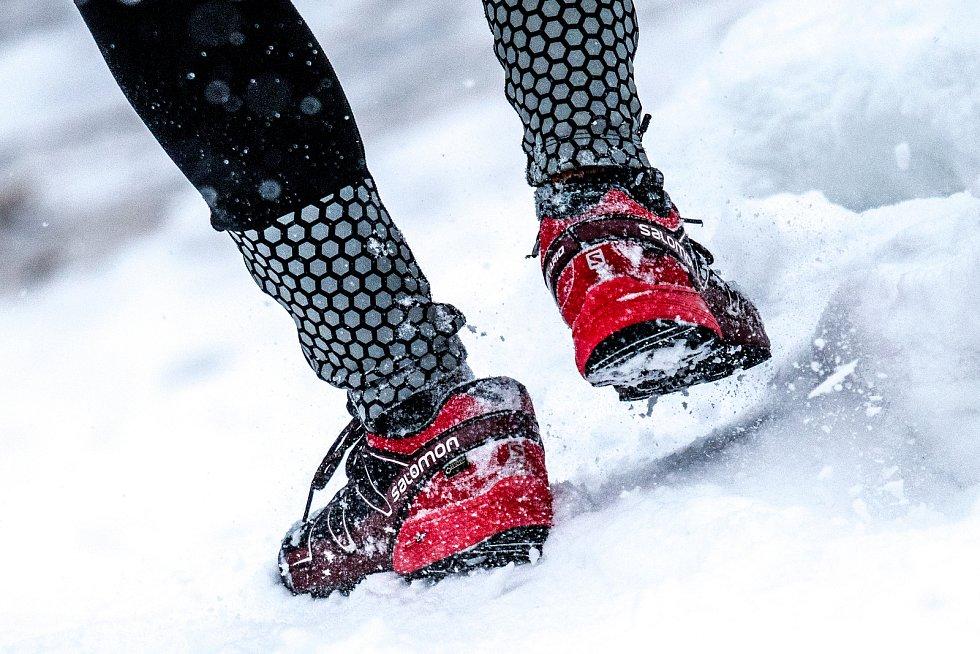 Zimní extrémní závod na Lysé hoře. Ilustrační foto.