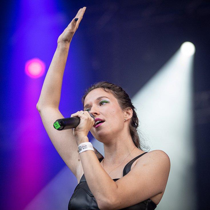 Festival Štěrkovna Open Music 2021, Landek Park, 31. července 2021 v Ostravě.
