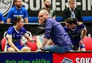 Superfinále extraligy žen mezi Vítkovicemi a Chodovem