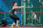 Zlatá tretra Ostrava 2018. Hammer throw, kladivo ženy, Malwina Kopron