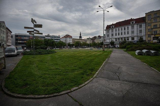 Masarykovo náměstí vOstravě. Ilustrační foto.