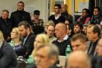 Debaty o rozšíření VTP parku se zúčastnil také primátor Tomáš Macura.