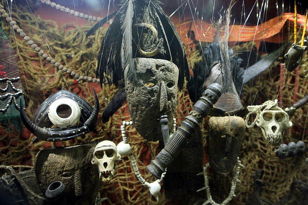 Snímek z výstavy Šangri-la