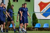 Fotbalisté FC Baník Ostrava. Ilustrační foto.