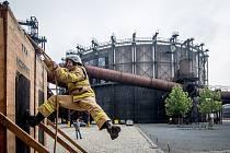 TFA Ostravská věž (TFA=Nejtvrdší hasič přežije) v Dolní Oblasti Vítkovice, 4. zaří 2018 v Ostravě.