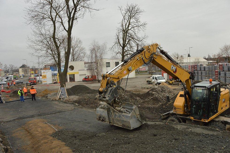 Dle plánu, do konce dubna má být hotovo Parkoviště P+R.