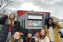 Do Recyklohraní se zapojili i žáci z gymnázia v Ostravě-Hrabůvce.