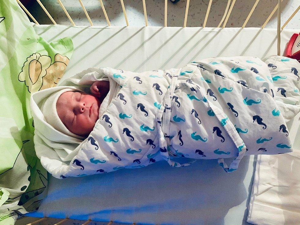 Stella Gelnarová , Fulnek, narozena 4. dubna 2021 v Opavěmíra 50 cm, váha 3370 g. Foto: Tereza Fridrichová