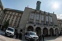 Městská policie Ostrava v těchto dnech převzala dvě nová vozidla na CNG pohon.
