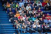 ČR - Nizozemsko, utkání kvalifikace tenisového Davisova poháru - úvodní dvouhry, Jiří Veselý (ČR) - Tallon Griekspoor (Nizozemsko), 1. února 2019 v Ostravě.