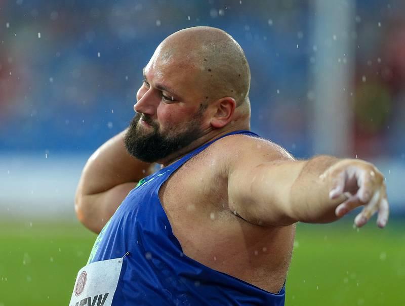 Atletický mítink IAAF World Challenge Zlatá tretra v Ostravě 20. června 2019. Na snímku Michal Haratyk z (POL).
