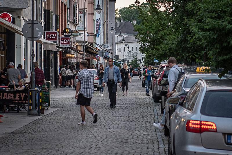 Stodolní ulice v Ostravě, 11. června 2021.