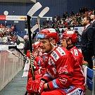 Utkání 34. kola hokejové extraligy: HC Vítkovice Ridera - HC Oceláři Třinec, 12. ledna 2019 v Ostravě. Na snímku Martin Adamský.