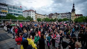 Demonstrace v Moravskoslezském kraji, 28. května 2019
