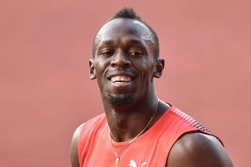Zlatá tretra Ostrava 2016. Usain Bolt