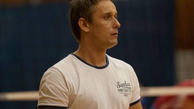 Trenér volejbalistek TJ Ostrava Zdeněk Pommer.