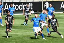 Fotbalová FORTUNA:LIGA. Dynamo České Budějovice - Baník Ostrava 1:2 (sobota 7. 8. 2021)