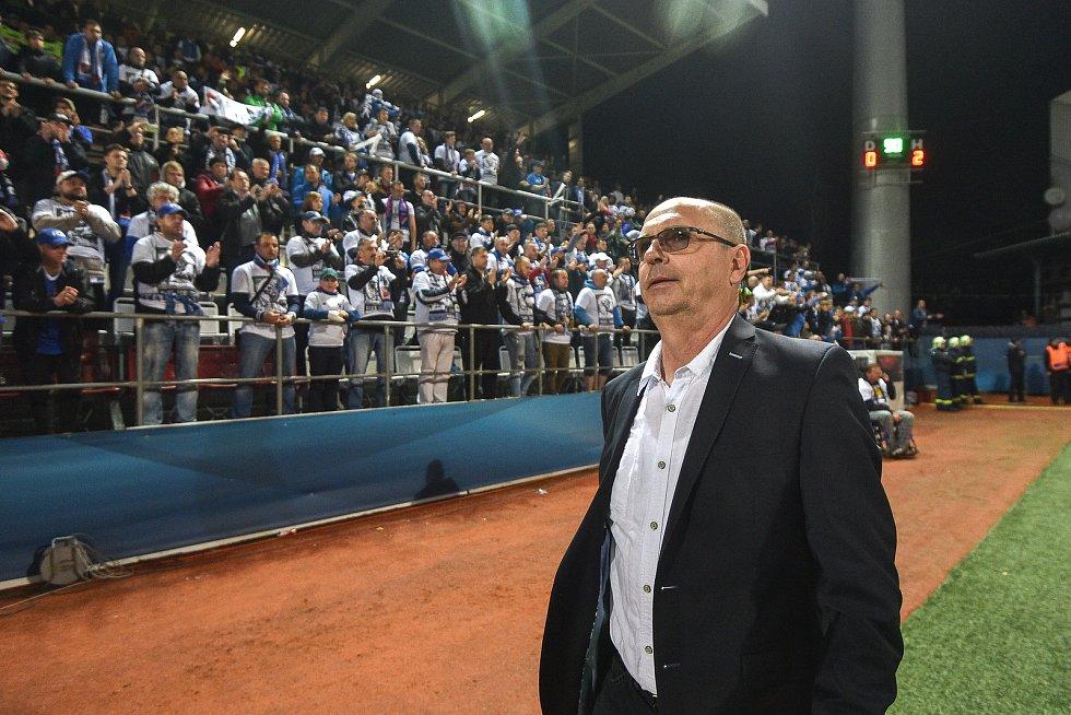 Finále fotbalového poháru MOL Cupu: FC Baník Ostrava - SK Slavia Praha, 22. května 2019 v Olomouci. Na snímku Bohumil Páník.