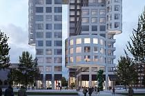 Ostrava Tower - vizualizace, spodní část