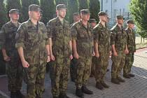 Ostravští vojenští záložníci zahájili po roce opět výcvik na Libavé. Červen 2021.