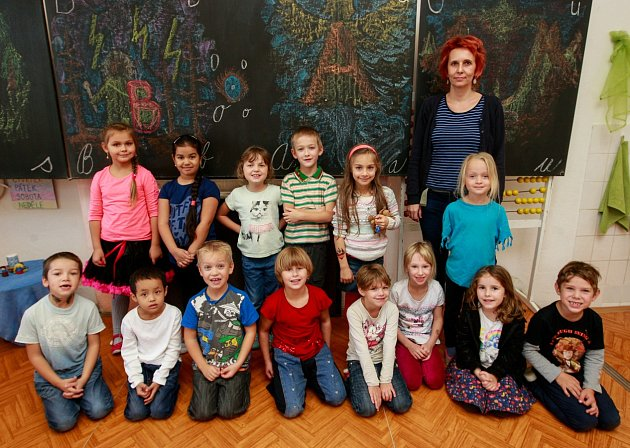 Prvňáci Waldorfské základní a mateřské školy, Na Mlýnici 611/36, Ostrava