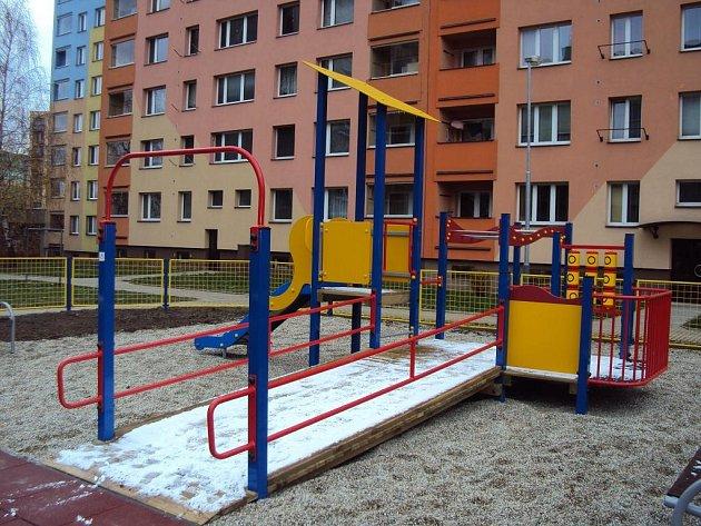 První dětské hřiště pro handicapované v Ostravě-Jihu