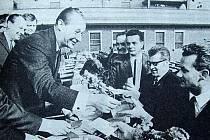 Symbolem a oosobností Pražského jara se stal první tajemník Ústředního výboru KSČ Alexander Dubček