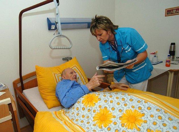 Ilustrační foto z domu s pečovatelskou službou