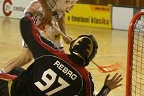 Tomáš Tříska nastoupil do zápasu i přes nemoc, která ho v posledních dnech trápila.
