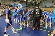 Play off florbalový zápas Vítkovice - Chodov