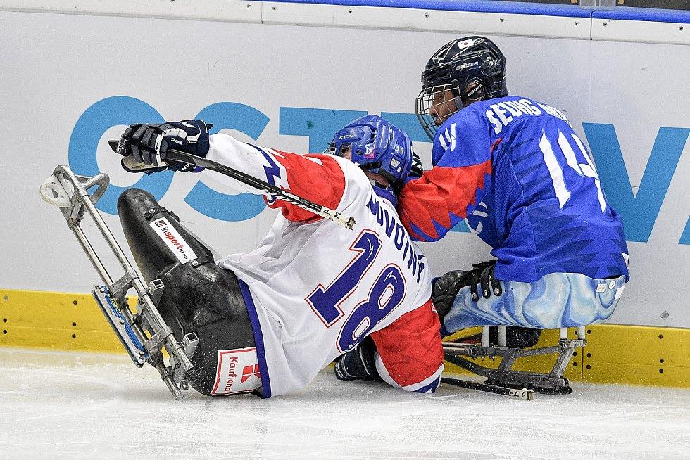MS v para hokeji - zápas Korea - Česká republika, 19. června 2021 v Ostravě.
