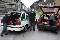 Policie zadržela osádku vozidla převážejícího pervitinovou varnu. Řidič byl zdrogovaný.