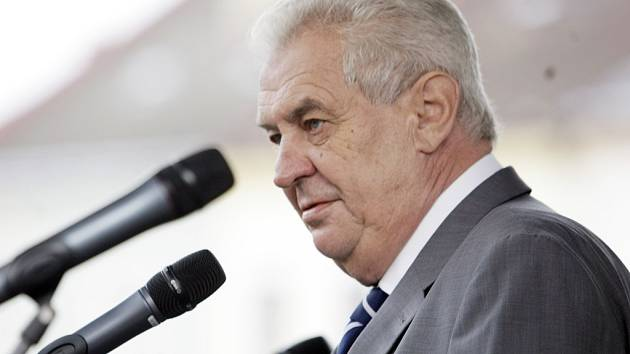 Prezident Miloš Zeman. Ilustrační foto