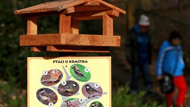 Snímek z předvánoční akce se v ostravské zoologické zahradě, která byla určena zejména dětem.