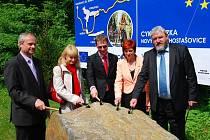 Oficiální zahájení stavby cyklostezky z Nového Jičína do Hostašovic.