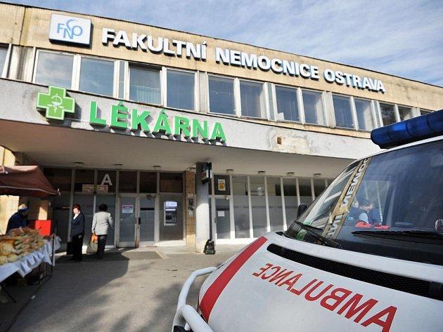 Fakultní nemocnice Ostrava. Ilustrační foto