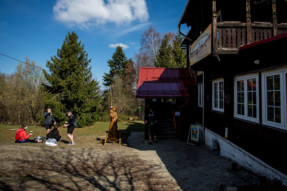 Chata Prašivá v Beskydech. Ilustrační foto.