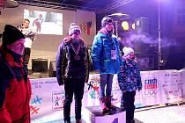 První vyvrcholení pátého ročníku Olympiády dětí a mládeže České republiky v podobě medailového ceremoniálu se uskutečnilo v úterý 31. ledna ve Frenštátě pod Radhoštěm.