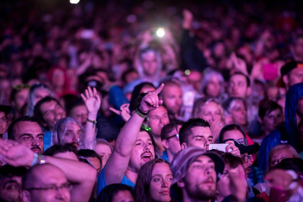 Hudební festival Colours of Ostrava, sobota 22. července 2017.