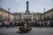 Oslavy 70. výročí osvobození v Ostravě.
