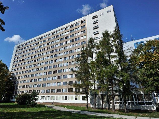 Vysokoškolské koleje v Ostravě-Porubě. Ilustrační foto.