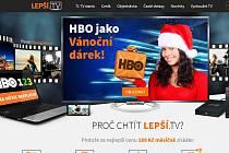 Webová stránka lepsi.tv
